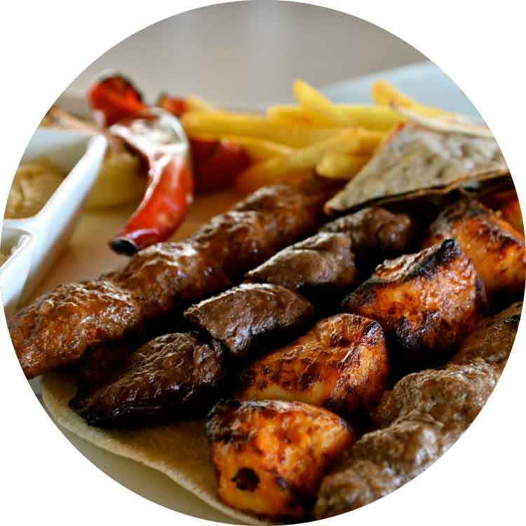 Mixed Kebab Platter